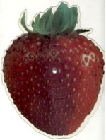 Jolene strawberry shaped picture disc